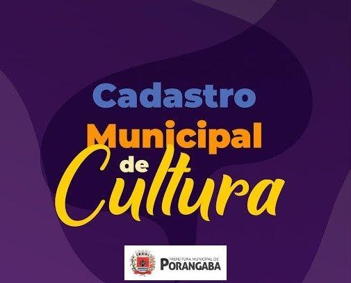 Cadastro Municipal de Cultura alterado